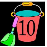 10 Buckets