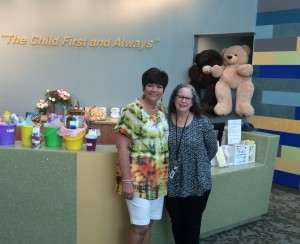 Delivery to Primary Childrens Hospital in Salt Lake City, Utah.  Thank you, Marie.